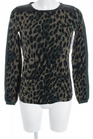 Patrizia Pepe Wollpullover Leomuster Casual-Look
