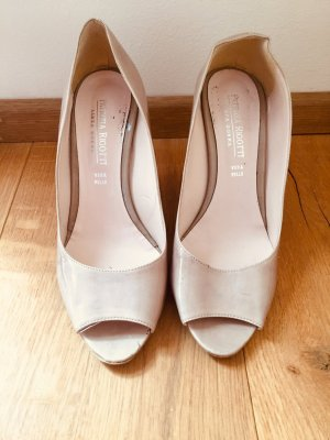 Peep Toe Pumps beige-room