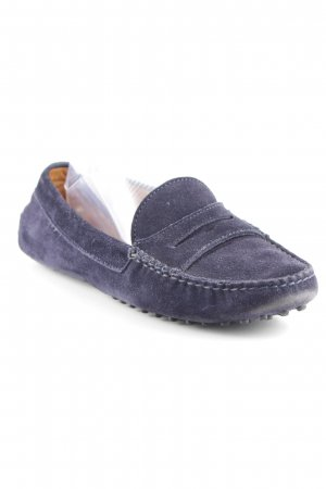 Patrizio Dolci Slipper dunkelblau Business-Look