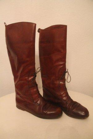 Patterson Botas con cordones marrón-coñac