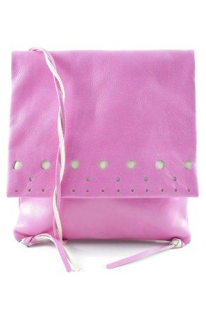 Patterson Umhängetasche pink-creme Romantik-Look