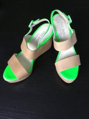 Paul Barritt High Heel Sandal beige-neon green