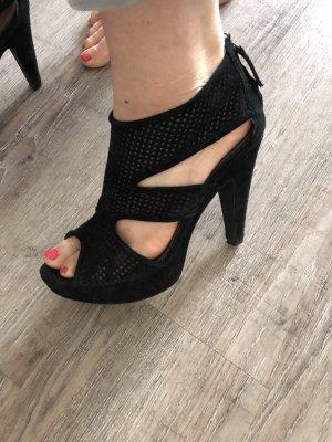 Paul Barritt Platform High-Heeled Sandal black