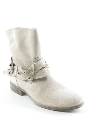 Paul Barritt Reißverschluss-Stiefeletten beige Casual-Look