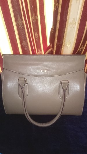 PAUL COSTELLOE  Ledertasche Genuine Leather Dark Nude