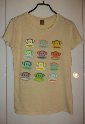 Paul Frank T-shirt hellgelb