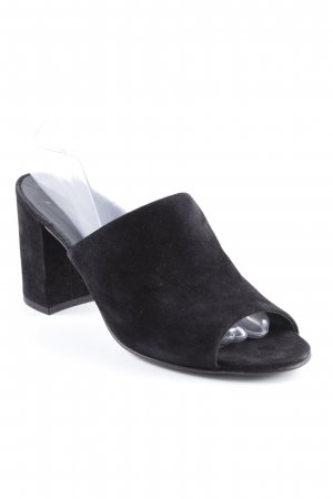 Paul Green Heel Pantolettes black classic style