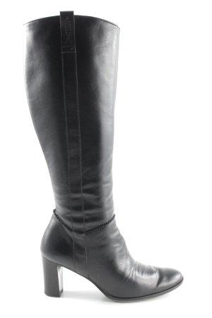 Paul Green Absatz Stiefel schwarz Business-Look