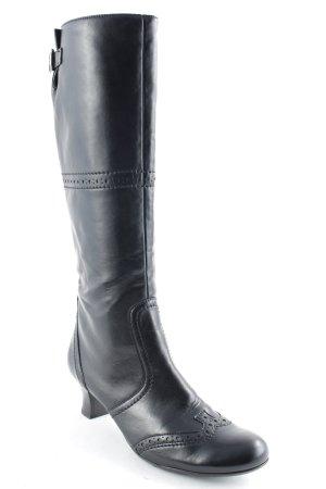 Paul Green Absatz Stiefel schwarz Casual-Look