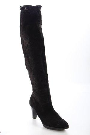 Paul Green Absatz Stiefel schwarz schlichter Stil