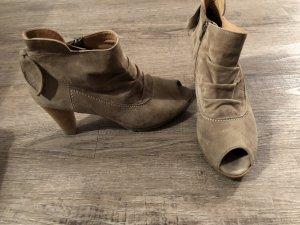 Paul Green Ankle Boots Stiefeletten Peeptoes Gr. 38 Np 149 Euro