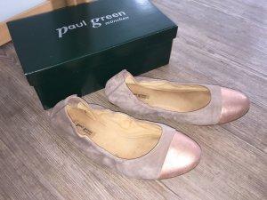 Paul Green ballerina Slipper nude rosa Gr.6 1/2 40 top