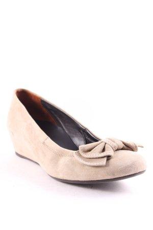 Paul Green Ballerinas beige Romantik-Look