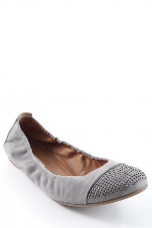 Paul Green Ballerinas mit Spitze grau Casual-Look