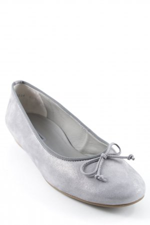 Paul Green Ballerinas mit Spitze silberfarben Business-Look