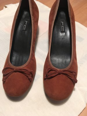 Paul Green Loafers cognac Suede