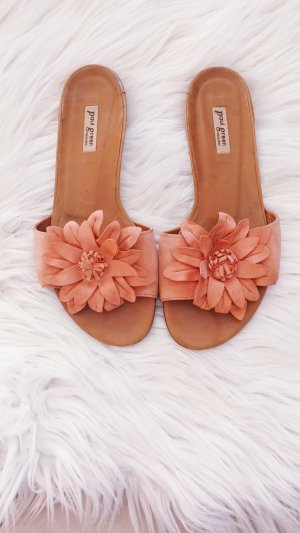Paul Green Toe-Post sandals brown-orange