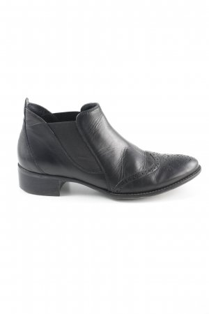 Paul Green Booties schwarz Ornamentenmuster Casual-Look