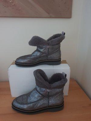 Paul Green Boots Gr. 39 mit echtem Fell