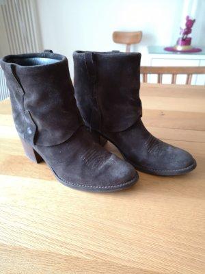 Paul Green Low boot gris foncé