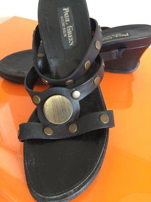 wholesale dealer bf141 4ec07 Paul Green Wedge Sandals black leather