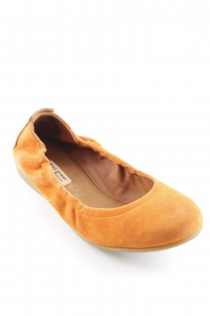 Paul Green faltbare Ballerinas orange-dunkelorange Casual-Look