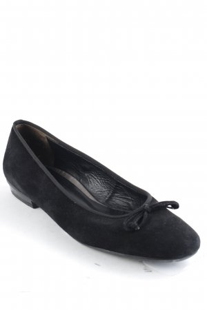 Paul Green faltbare Ballerinas schwarz Casual-Look