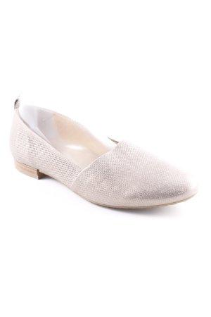 Paul Green faltbare Ballerinas silberfarben Elegant