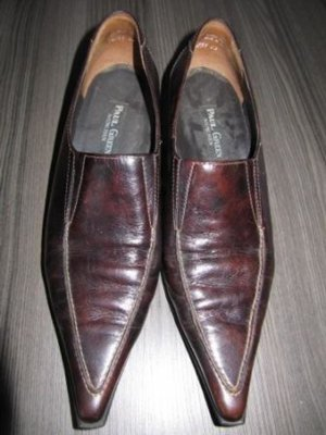 Paul Green - flacher Pumps - Hosenschuh - dunkelbraun Glattleder