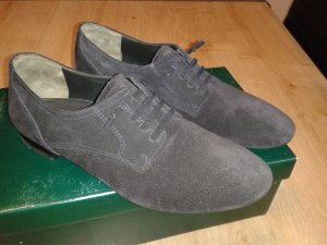 Paul Green Low Shoes dark blue suede