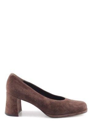Paul Green High Heels braun Business-Look