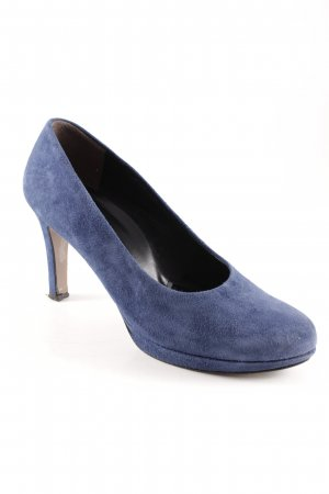 Paul Green High Heels blau Business-Look