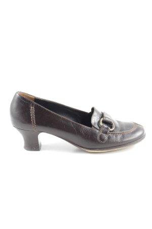 Paul Green High Heels braun Vintage-Look