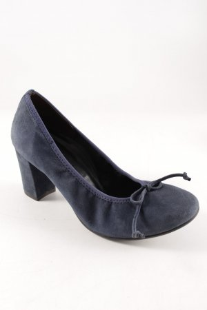 Paul Green High Heels dunkelblau klassischer Stil