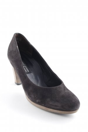 Paul Green High Heels dark brown simple style