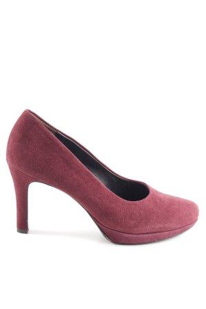 Paul Green High Heels rot Casual-Look