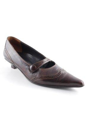 Paul Green High Heels schwarzbraun Elegant