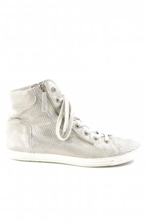 Paul Green High top sneaker beige casual uitstraling