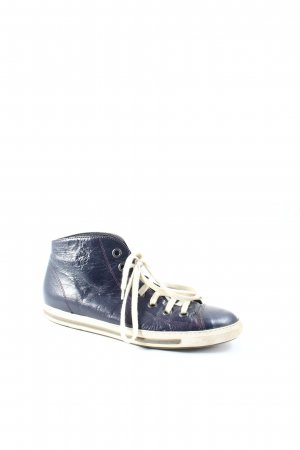 Paul Green High Top Sneaker dunkelblau Casual-Look