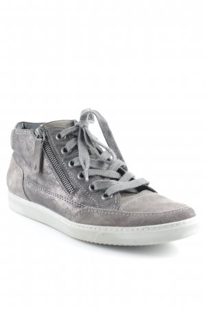 Paul Green High Top Sneaker grau Street-Fashion-Look