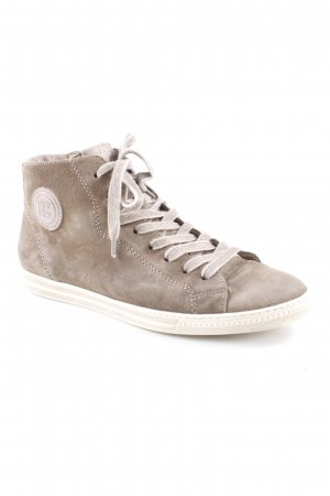 Paul Green High Top Sneaker graubraun Casual-Look