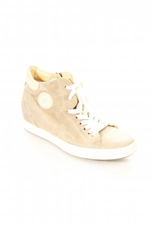 Paul Green High Top Sneaker graubraun-creme Skater-Look