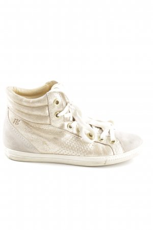 Paul Green High Top Sneaker hellbeige Casual-Look