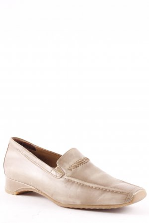 Paul Green Hochfront-Pumps beige-hellbraun Retro-Look