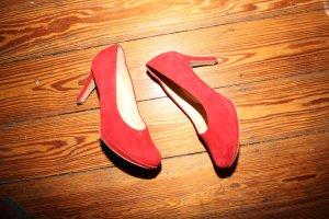 Paul Green - Hohe Schuhe - Absatz - Rot