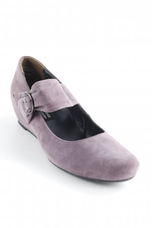 Paul Green Keil-Pumps dunkelviolett Casual-Look
