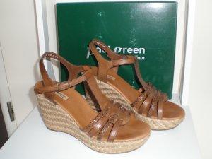 Paul Green Keil-Sandalette Gr. 6 1/2 (EU 40 / US 9) mit Originalkarton