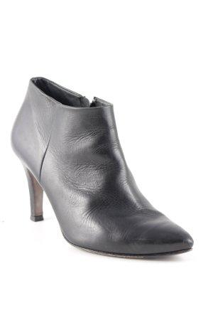 Paul Green Keil-Stiefeletten schwarz Elegant