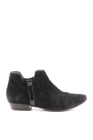 Paul Green Korte laarzen zwart casual uitstraling