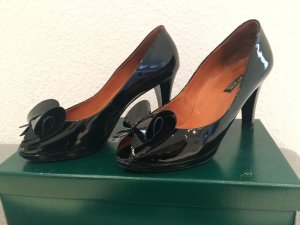 Paul Green Lack Pumps schwarz
